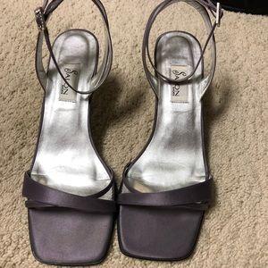 Lilac dress sandals
